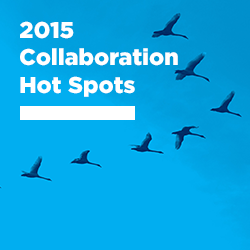 2015 Collaboration Hot Spots