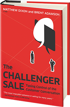 Challenger Sale Book Cover