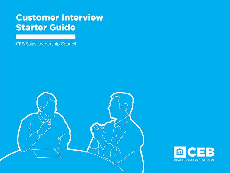 Customer Interview Starter Guide Cover