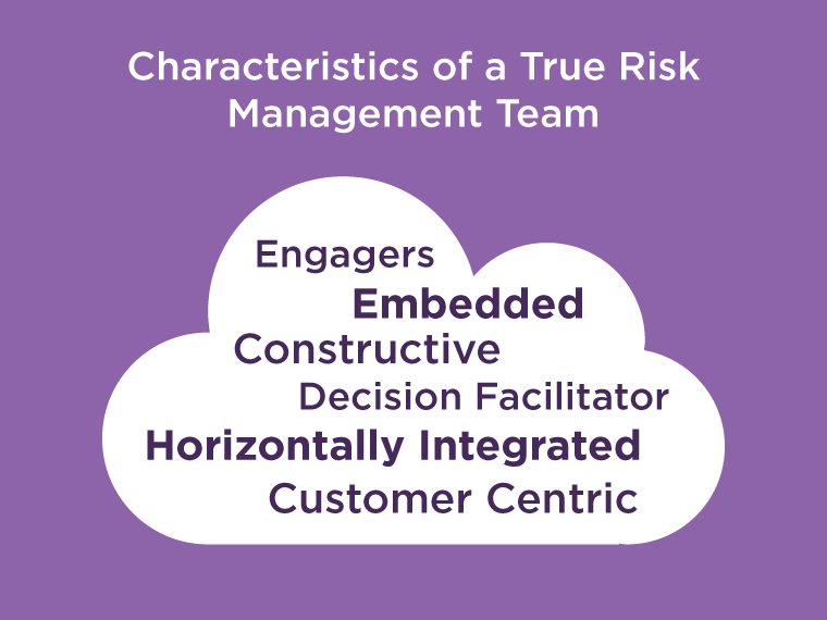 Characteristics of a True Risk Management Team