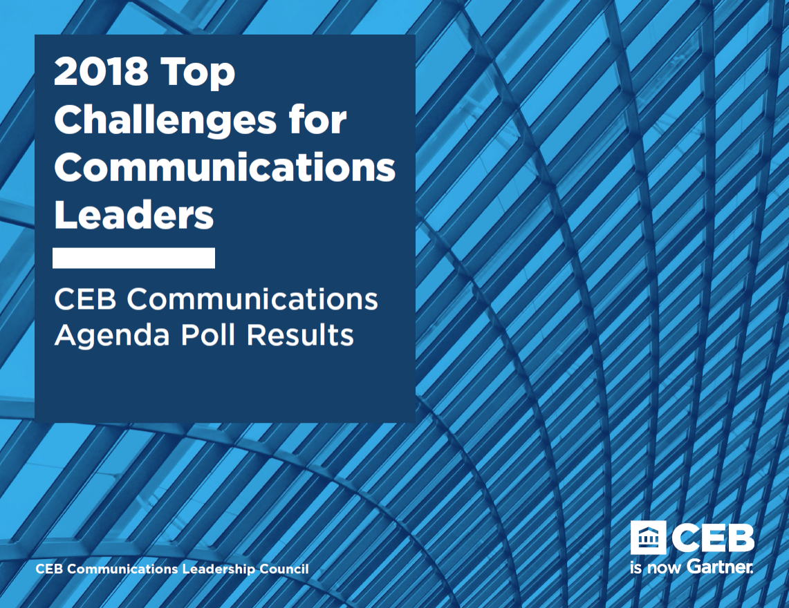 Top Communications Challenges for Meeting Organizational Commitments for 2018