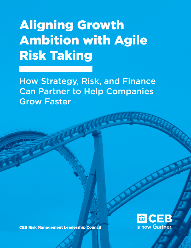 Aligning Growth Ambition with Agile Risk Taking