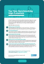 Top Tips: Benchmarking High-Potentials cover