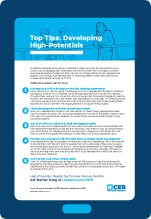 Top Tips: Developing High-Potentials cover