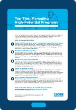 Top Tips: Managing High-Potentials cover
