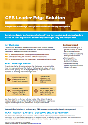 leader edge solution flyer