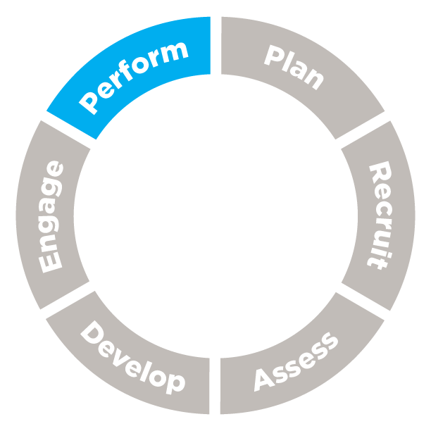 Talent Management Cycle: Perform