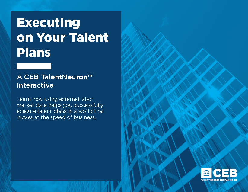 Execute on Your Talent Plans