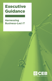 Harnessing Business-Led IT