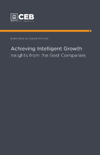 Achieving Intelligent Growth