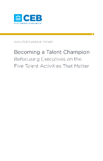 Becoming a Talent Champion