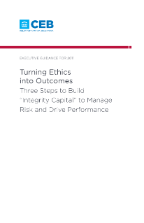 Turning Ethics into Outcomes