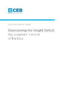 Overcoming the Insight Deficit