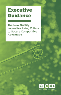 The New Quality Imperative