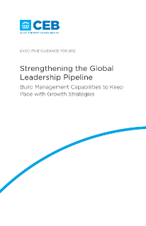 Strengthening the Global Leadership Pipeline