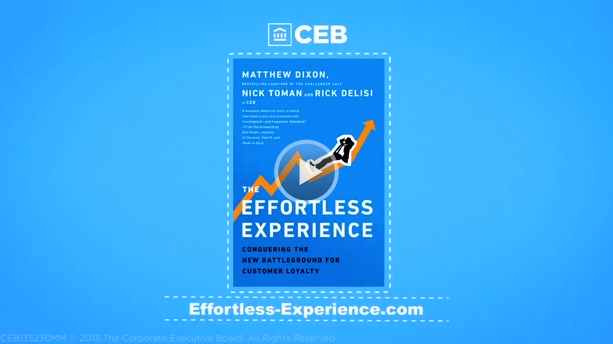 CEB Effortless Experience - Authors Interview